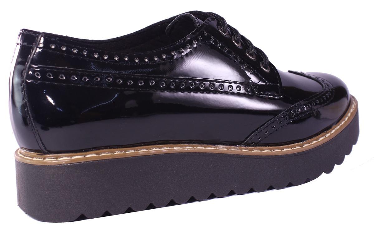 78428bf32d082 Cargando zoom... zapatos mujer bajos base plataforma acordonados moda tops