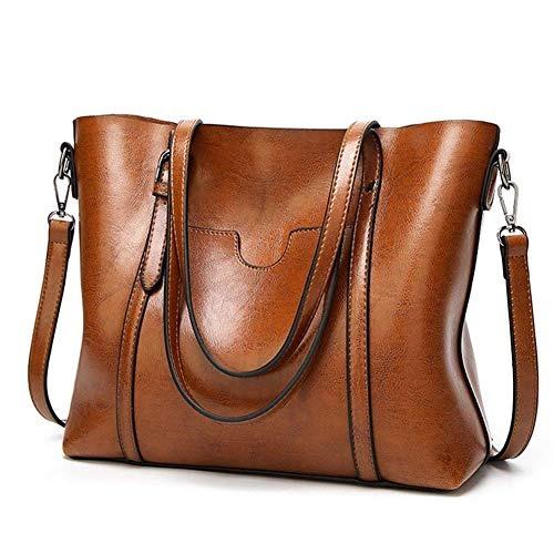 tote asa mano bolsa moda mujer con de bolso bandolera dama pWw8CdCq