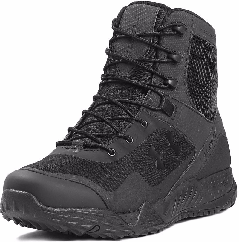 Mujer Under Armour Botas Tacticas Valsetz Rts Negro Total