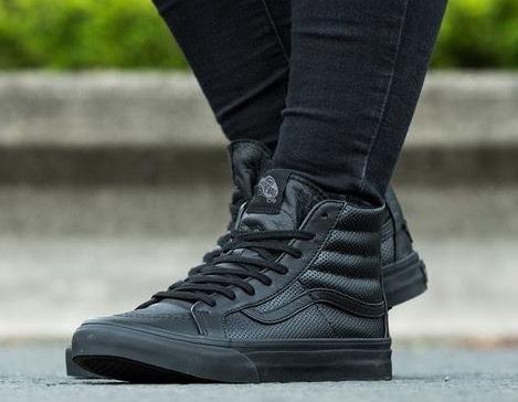 Negras · Vans Botitas Hombre Mujer Zapatillas Iqg4nB