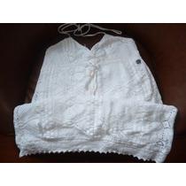Vestido Playero Blanco Talla S