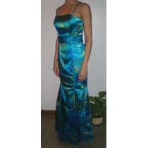 Espectacular Vestido De Fiesta M (medidas Publicadas)