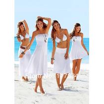 Vestidos Cortos Largos Multiusos Faldas Playeras Damas Playa