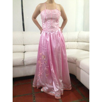 Vestido Doble Falda De Gala, Fiesta, Reina Talla 12