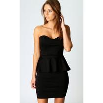 Vestido Tipo Coctel Negro