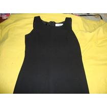 Vestido De Dama Ejecutivo Formal Elegante Negro