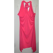 Vestido Rosado Importado Coctel Casual Dama