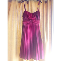 Vestido Rojo Vino Tinto Tipo Cóctel Exotik