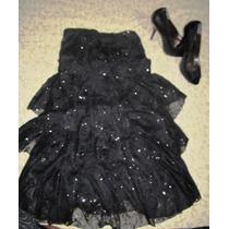 Vestido De Noche Y Zapatos Gratis (importado De Argentina)