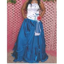 Vestido De 15 Años Con Su Cojín Incluido
