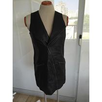 Vestido Dama 100%cuero Marca 7 For All The Making Talla Xs