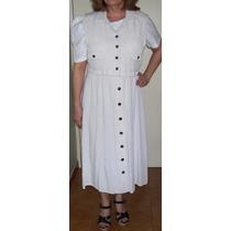 Vestido Conjunto Casual Para El Día, Talla 10 + Regalo