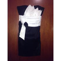 Vestido Negro Corto Semiformal
