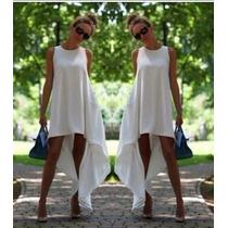 Hermoso Y Fresco Vestido Bluson