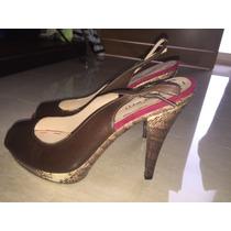 Zapatos Nine West De Tacón Alto T38.precio Negociable
