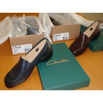 Zapatos Clarks Para Dama Blackberry Tallas 38 Nuevos