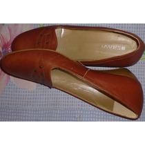 Zapatos De Dama, Tacon Bajo, Talla 40 Poco Uso, Como Nuevos.