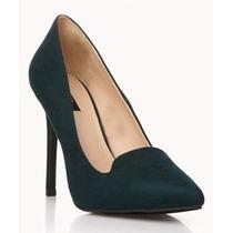 Zapatos Tacones Plataformas Para Damas Forever21 Originales