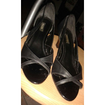 Zapatos Dama Arezzo Negros Talla 36 (1 Postura)