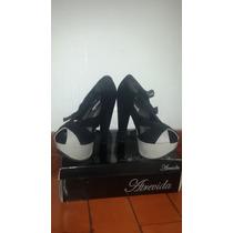 Zapatos Nuevos Negros Marca Atrevida Tacones