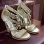 Sandalias Altas Gucci Impecables Talla 39