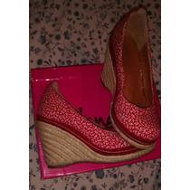 Zapatos De Dama Tacon Corrido Nicolee 38