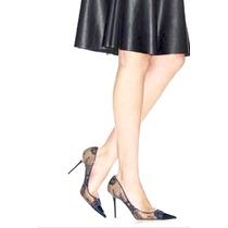 En Oferta Zapatos Punta Fina Scady Color Negro, Elegantes.!