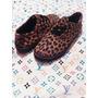 Zapatos De Trenzas Animal Print Leopardo Tallas 35 37 38 39
