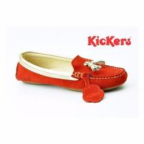 Zapatos Casuales Marca Kickers Para Damas 100% Originales