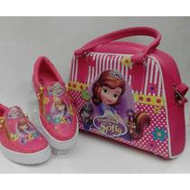 Combo De Niña Zapatos + Cartera