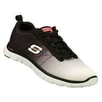 Zapatos Skechers Para Damas Flex Appeal 11882-wbk