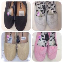 Zapatos Tipo Toms Para Dama