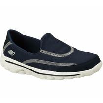 Zapatos Skechers Go Walk 2 Para Damas 13949-nvy