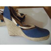 Bellos Y Comodos Zapatos De Blue Jeans Y T37