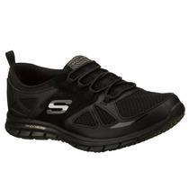 Zapatos Skechers Lynx Para Damas 22704-bbk