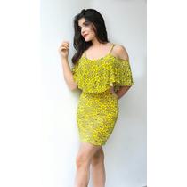Hermoso Vestido Tropical 2016 Giovannet Formal Casual