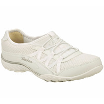 Zapatos Skechers Para Damas Relaxed Fit 22463-wht