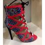 Sandalias Estilo Botines Mujer Moda Zapatillas Calzado Dama