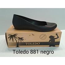 Zapatillas Toreritas Bailarina Plastico Toledo Mayor Detal