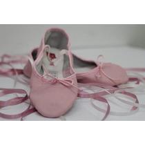 Zapatillas De Ballet En Cuero Sporting