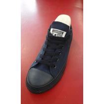 Zapatos Converse All Star En Azul Marino Y Otro Casual