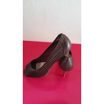 Zapatos María Pizzola Tala 39/40 Marrón Oscuro