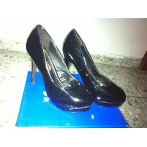 Zapatos De Tacon Femini Talla 40- Oferta!!!