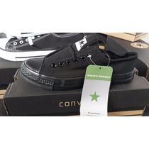 Oferta De Zapatos Converse All Star Caballero Blanco Negro