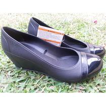 Zapatos De Dama Crocs Originales Tipo Wedge