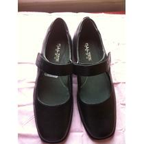 Zapatos Escolares Full Time Talla 39 Nuevos!!