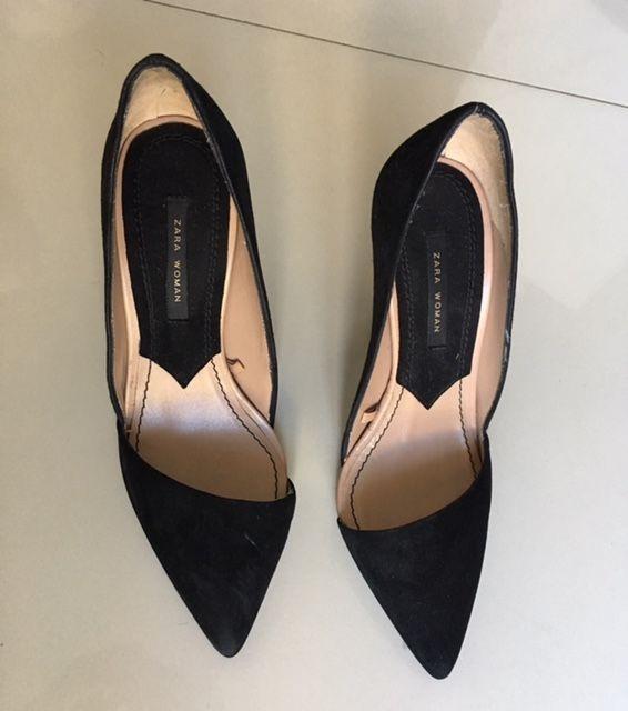 87e3e0c2386ce zapatos mujer zara negros talle 38 stilettos · zapatos mujer zara · mujer  zara zapatos