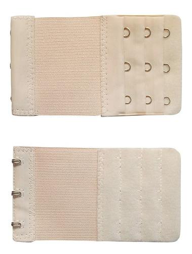 mujeres ajustable sostén extensor de 3 filas de 3 ganchos d