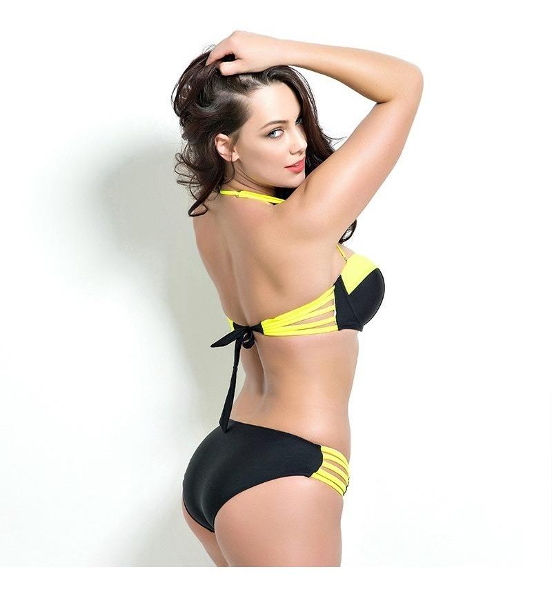 f6485722cf9f Mujeres Bikini Set De Baño Bikinis Grande Tamaño Natación