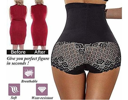 mujeres body shaper high waist tummy control butt lift panty